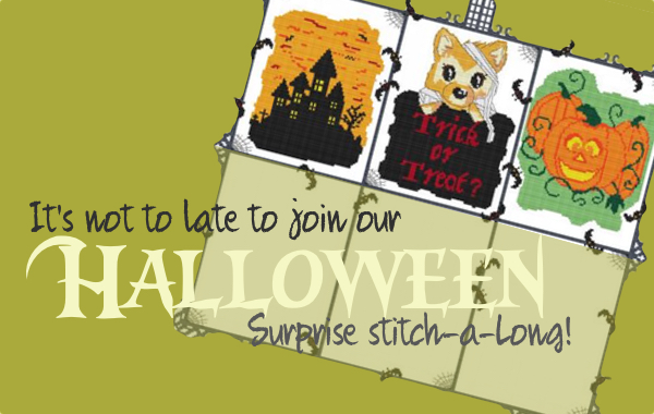 Halloween Secret Stitch Along