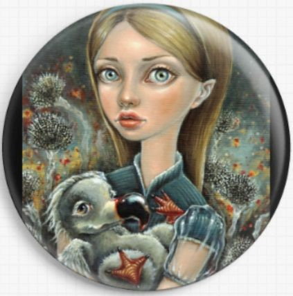 Alice and Dodo By Tanya Bond Needle Minder