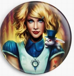 Alice  by Jonas Joedicke Licensed Art Needle Minder