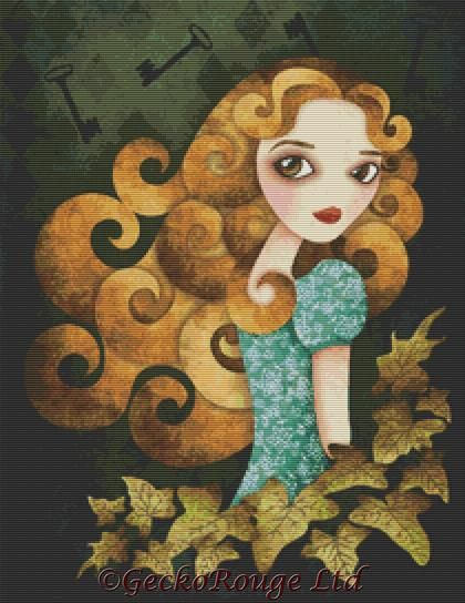 Alice by Sandra Vargas Cross Stitch Kit