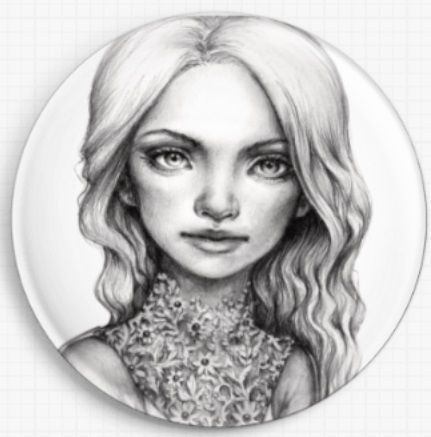 Aria By Tanya Bond Licensed Art Needle Minder