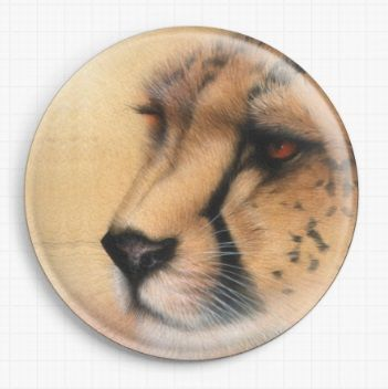 Cheetah By David Finney Licensed Art Needle Minder