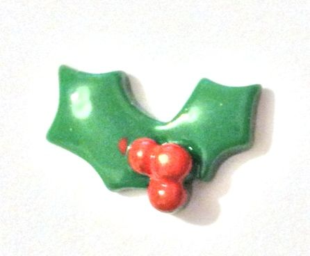 Christmas Holly - Needle Minder