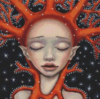 Coral Dream By Tanya Bond Cross Stitch Kit (1)