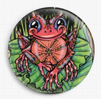 Happy Frogs By Tandoll Licensed Art Needle Minder 7