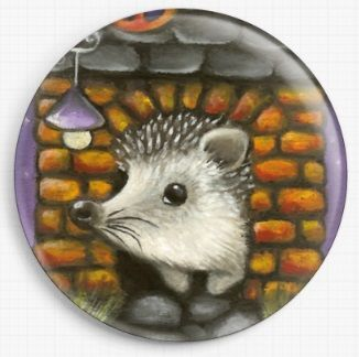 Hedgehog in a House By Tanya Bond Needle Minder