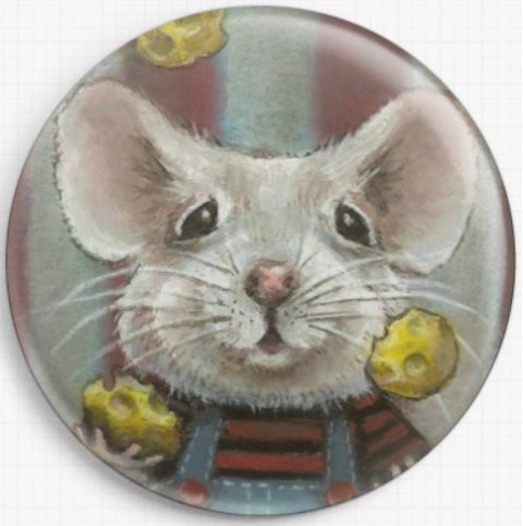 Juggler Mouse By Tanya Bond Needle Minder