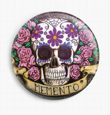 Memento By Shayne Of The Dead Licensed Art  Needle Minder