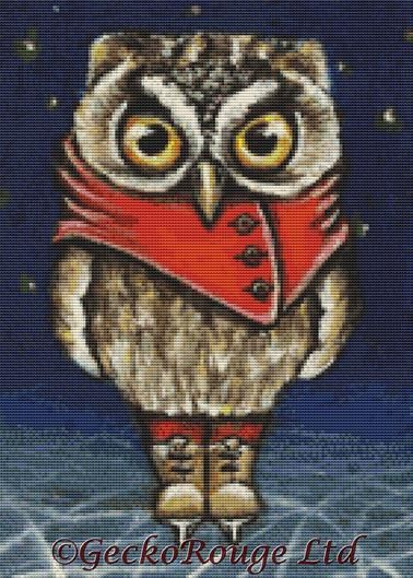 Owly By Tanya Bond Cross Stitch Kit