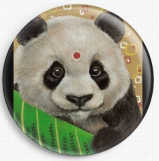Panda By Tanya Bond Licensed Art Needle Minder