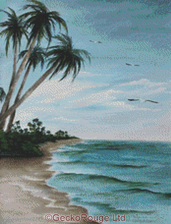 Paradise Island By Rosie Brown Cross Stitch Kit