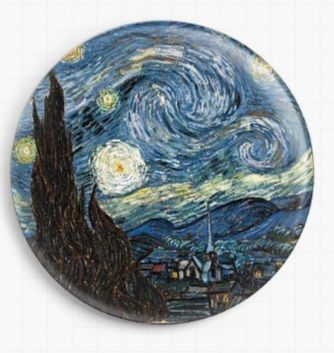 Starry Night By Van Gogh Needle Minder
