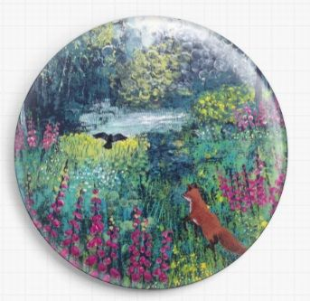 Through The Foxgloves By Jo Grundy Needle Minder