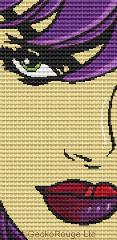 Hint Of Color By Tom Fedro - Modern cross stitch kit