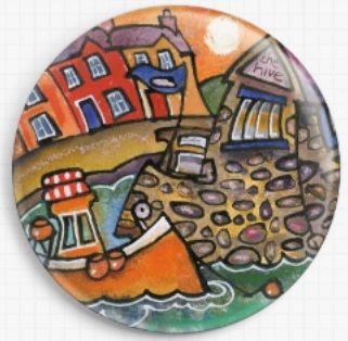 Aberaeron Quayweb By Dorian Davies Spencer Art Needle Minder