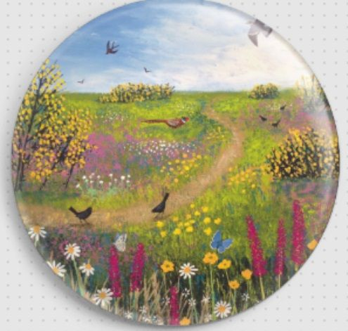 Across the Common By Jo Grundy Needle Minder