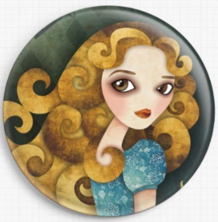 Alice By Sandra Vargas Licensed Art Needle Minder