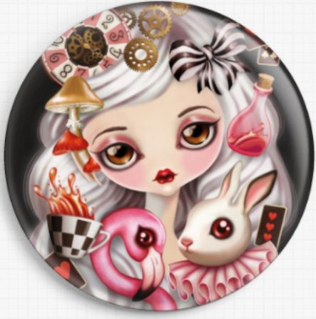 Alicia By Sandra Vargas Licensed Art Needle Minder