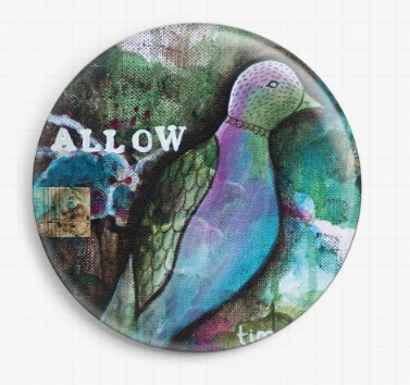 Allow By Pamela Varacek Licensed Art Needle Minders