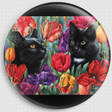 Amongst The Tulips By Irina Garmashova-Cawton Needle Minder