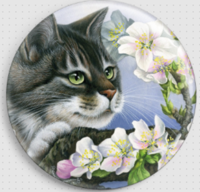 Apple Blossom By Irina Garmashova-Cawton Needle Minder