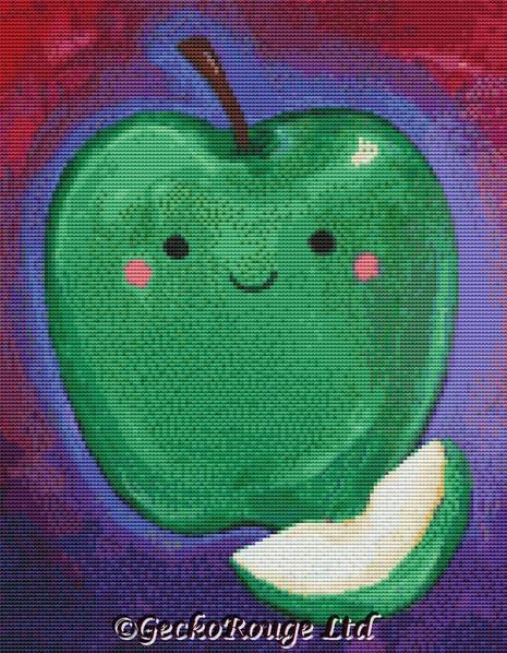 Apple By Megan Mars Cross Stitch Kit