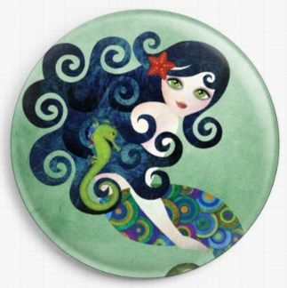 Aquamarine By Sandra Vargas Licensed Art Needle Minder
