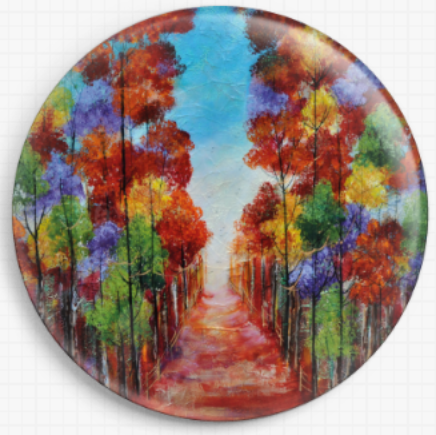 Autumn Forest By Rozanne Bell Licensed Art Needle Minder