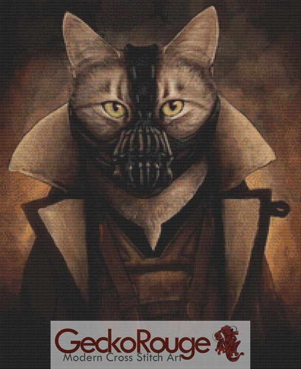 Bane Kitty By Jenny Parks Cross Stitch Kit ( JPBNKT)