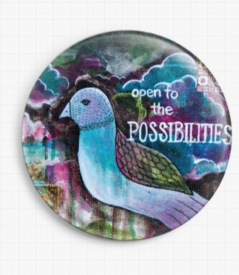 Be By Pamela Varacek Licensed Art Needle Minders