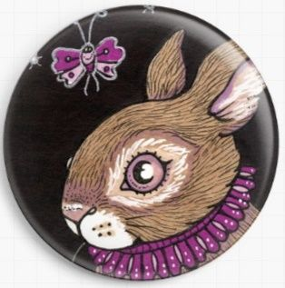 Bettina Bunny By Anita Inverarity Licensed Art Needle Minder