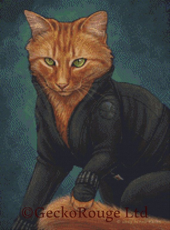Black Widow By Jenny Parks Cross Stitch Kit (JPKSBKWDW)