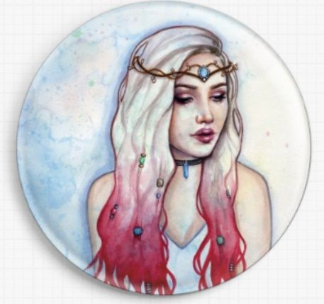 Bohemia By Emily Luella Licensed Art Needle Minder