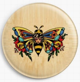 Bonita Bee By Illustrated Ink Licensed Art Needle Minder