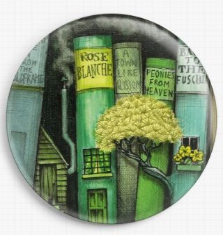 Bookshelf By Colin Thompson Licensed Art Needle Minder No: 2b