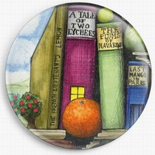 Bookshelf By Colin Thompson Licensed Art Needle Minder No: 3b