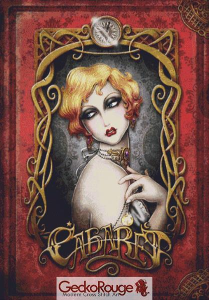 Cabaret Cross Stitch Kit By Medusa Dollmaker (MDCABT)