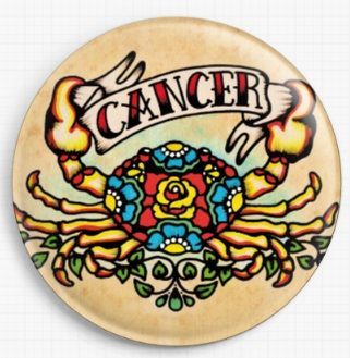Cancer By Illustrated Ink Licensed Art Needle Minder
