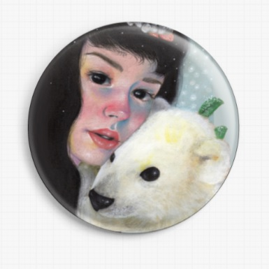 Casiphia's Companion By Candace McKay Licensed Art Needle Minder Winter