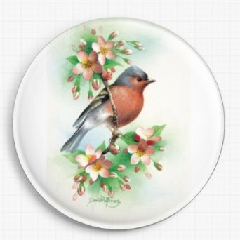 Chaffinch By David Finney Licensed Art Needle Minder