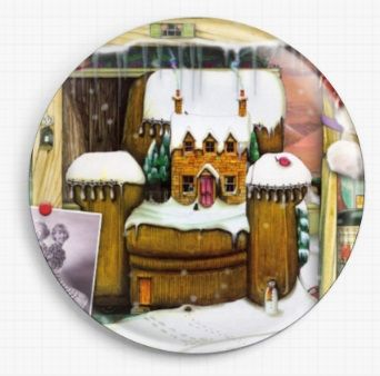 Christmas Stories By Colin Thompson Licensed Art Needle Minder No: 8