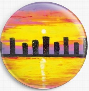 City Of Lights By Jessilyn Park Licensed Art Needle Minder