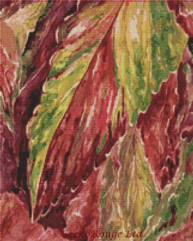 Coleus By Rosie Brown Cross Stitch Kit