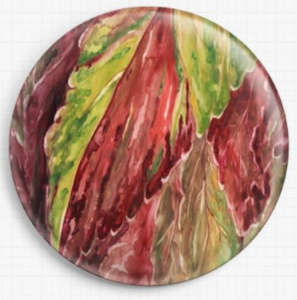 Coleus By Rosie Brown Licensed Art Needle Minder