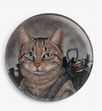 Daryl Dixon by Jenny Parks Licensed Art Needle Minder