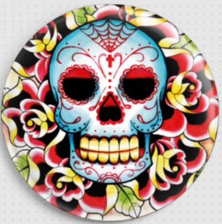 Day of the Dead/Tattoo Needle Minders