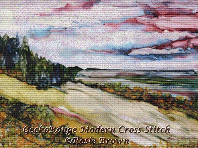 Dreamscape Cross Stitch Kit By Rosie Brown (RBDRMSPE)