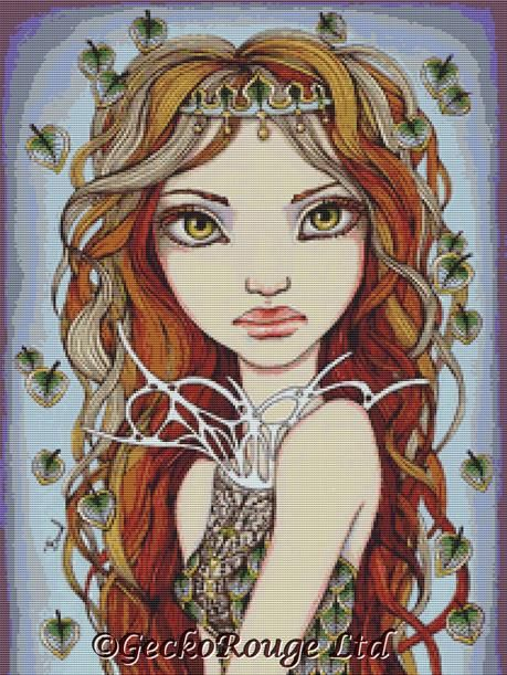 Dryad By Tanya Bond Cross Stitch Kit (TBDRYD)