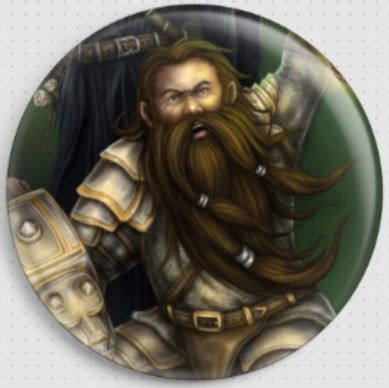 Dwarf By She Black Dragon Needle Minder