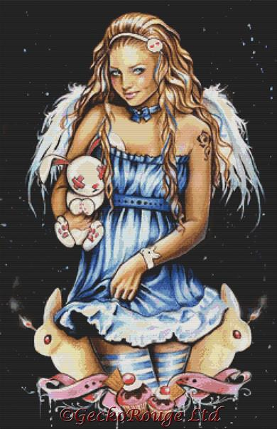Easter Fairy By Anna Marine Cross Stitch Kit